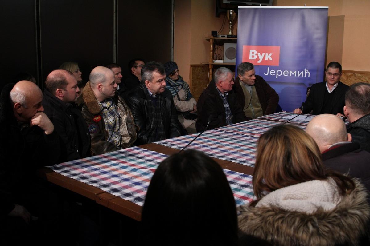 Јеремић у Парагама: Нећу дозволити да странци добијају земљиште без тендера