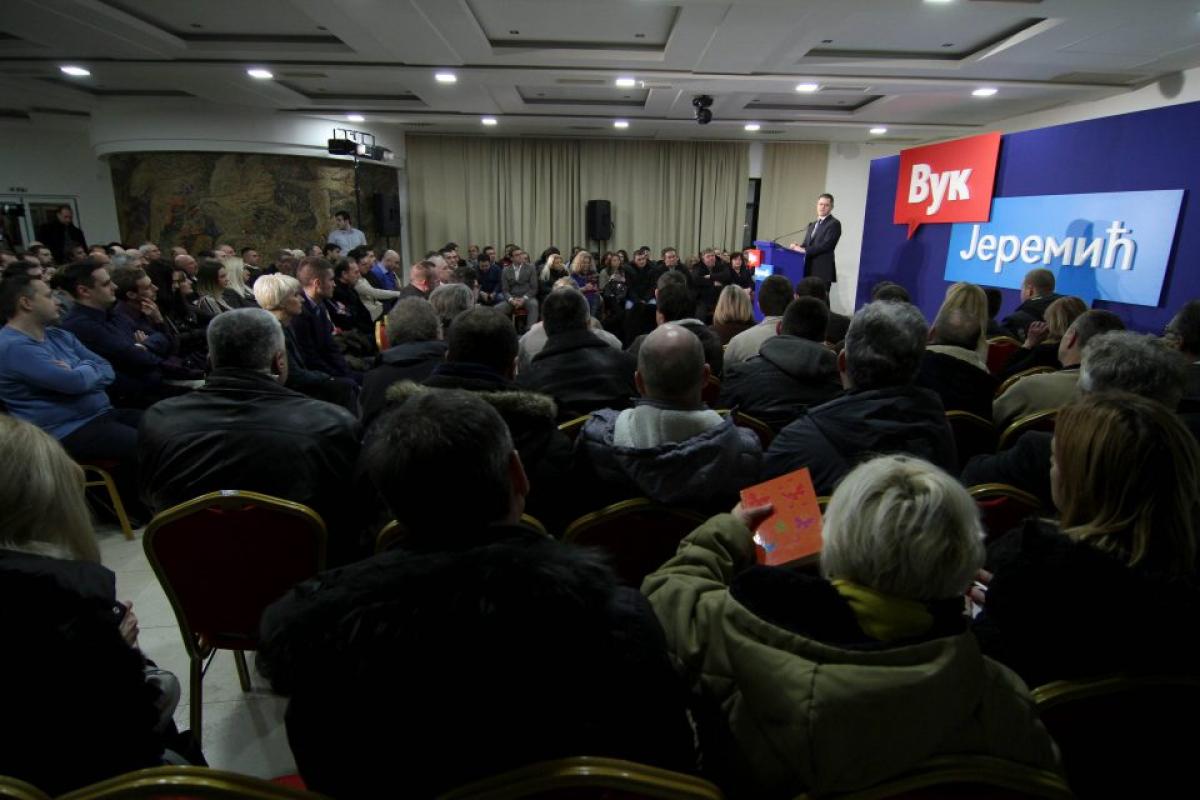 Јеремић разговарао са грађанима Параћина