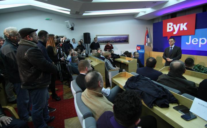 Јеремић у Трстенику: Ако будемо ћутали, биће нам све горе