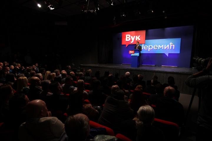 Јеремић: Вучић неће одолети да се кандидује