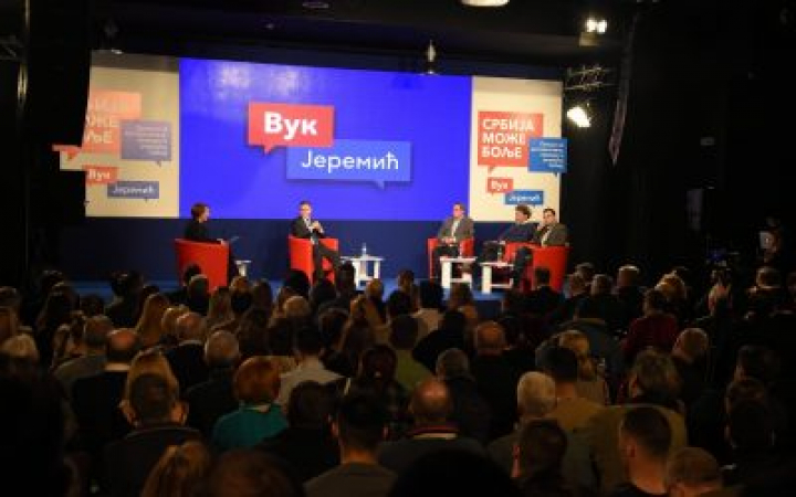 Јеремић: Ако не станемо на пут СНС, Србију чека пет година пакла