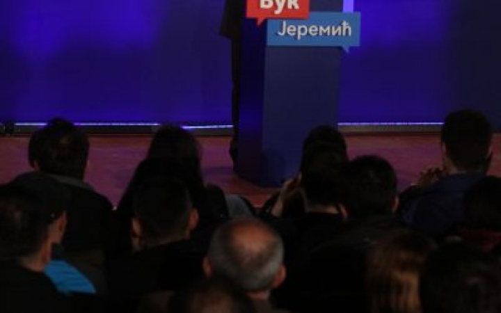 Јеремић: Нема победе у првом кругу, зато је Вучић нервозан