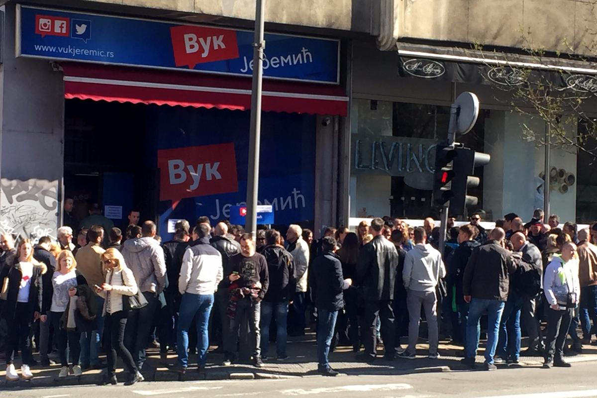Јеремић у Београду: Режим суров према пензионерима