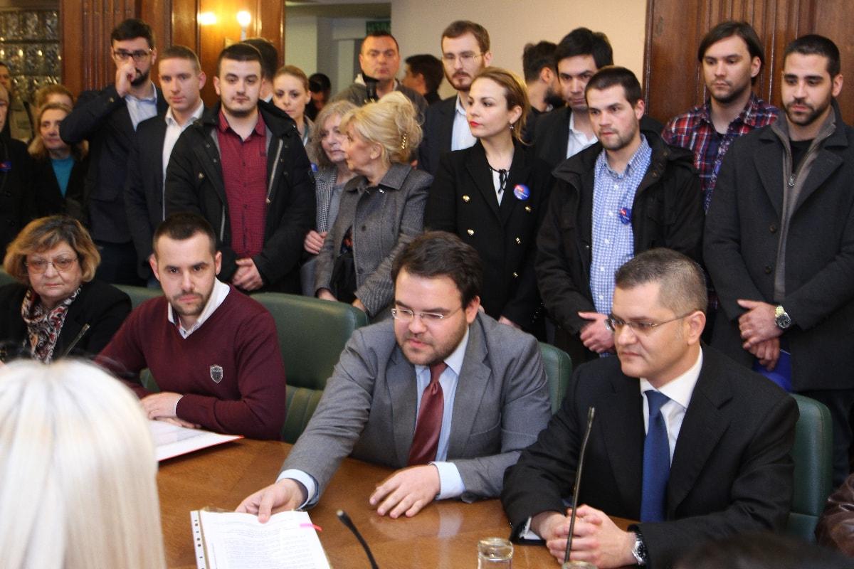 Јеремић поднео кандидатуру Републичкој изборној комисији