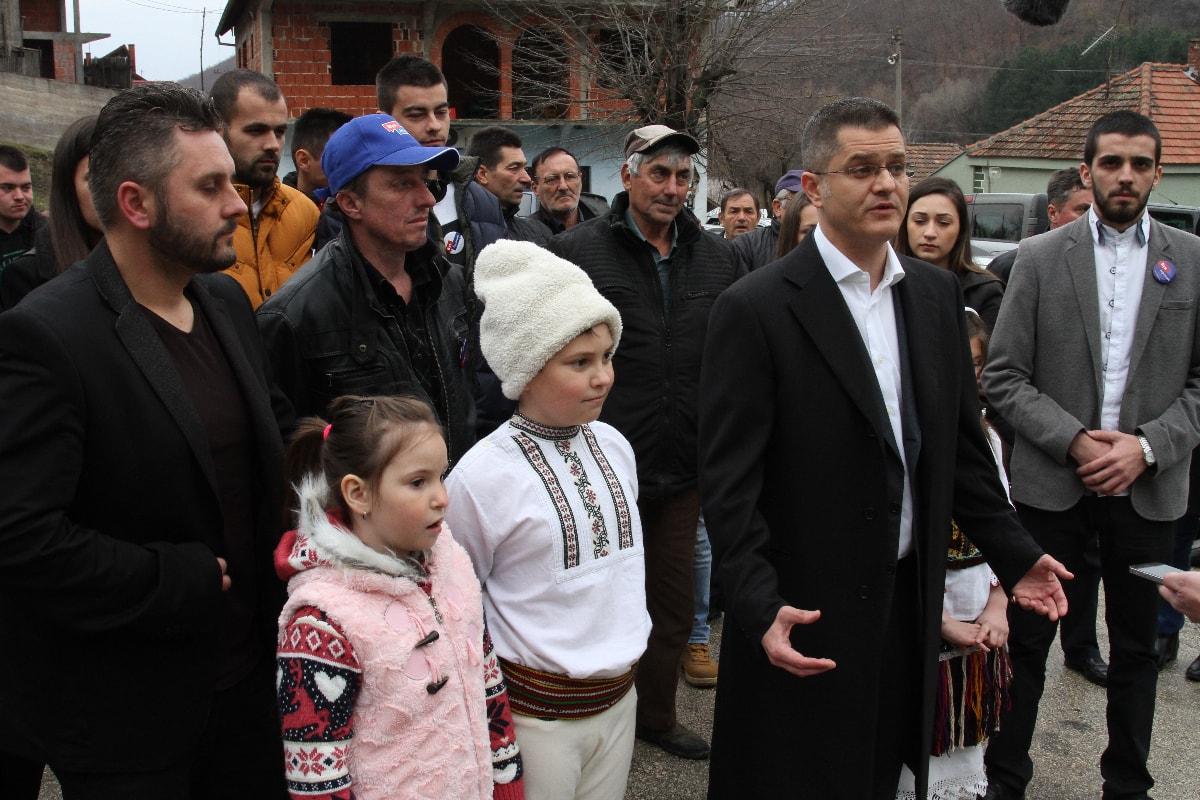 Јеремић у Борском округу: Власт нема решење за РТБ Бор