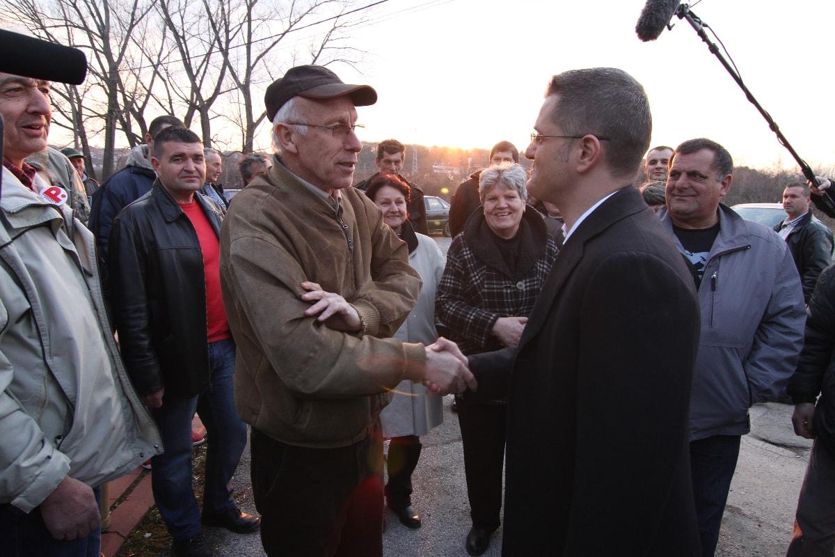 Јеремић у Младеновцу: Србија је земља обесправљених радника