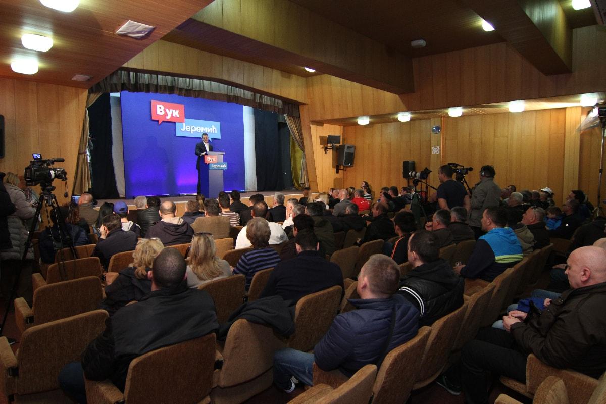Јеремић у Пријепољу: Погубна спољна политика Вучићеве владе