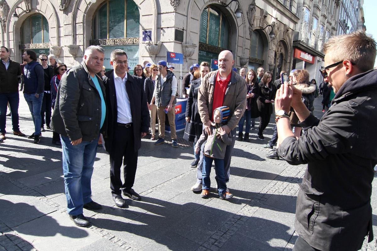 Јеремић у Београду: Разговор са грађанима престонице