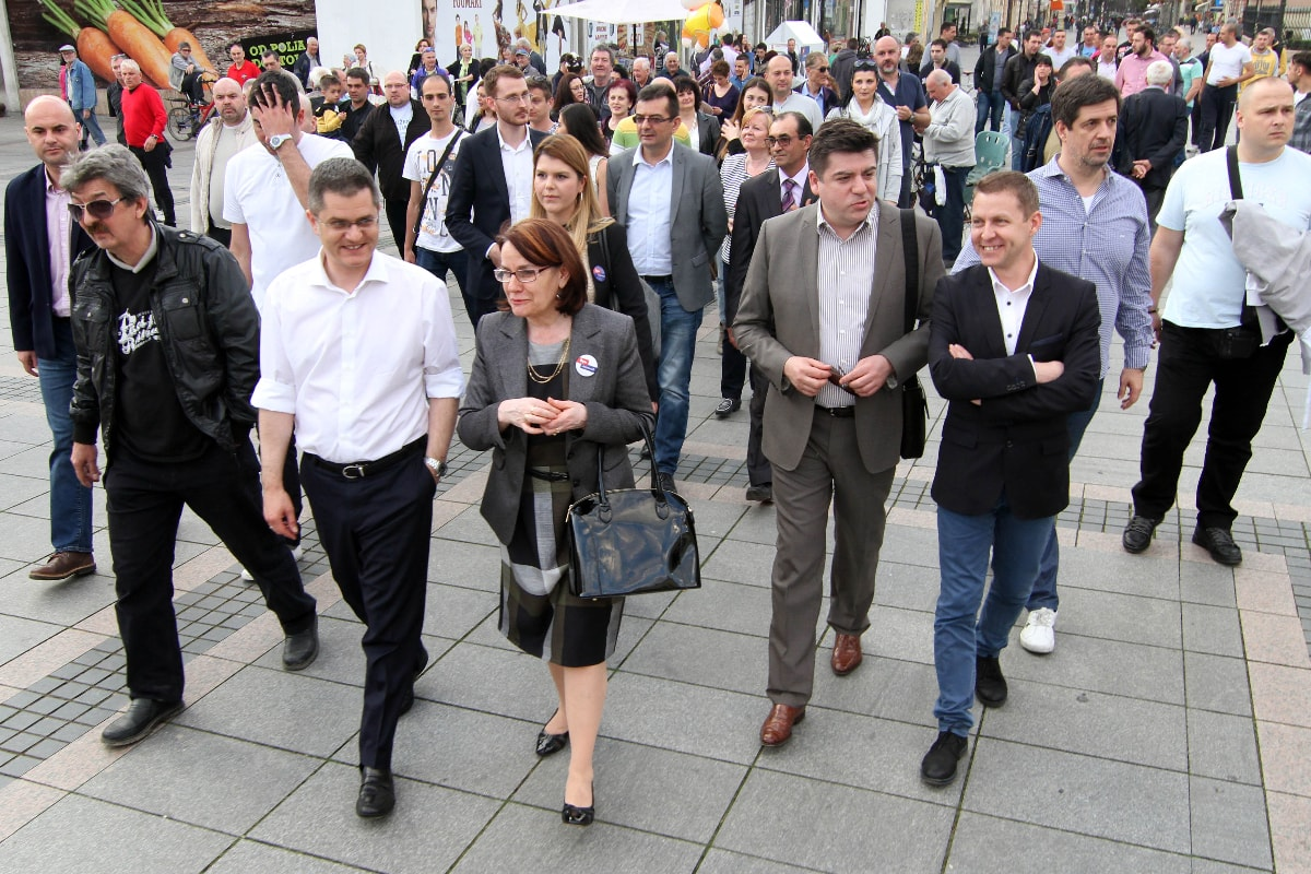Јеремић у Сомбору: Битка за нормалну и пристојну Србију