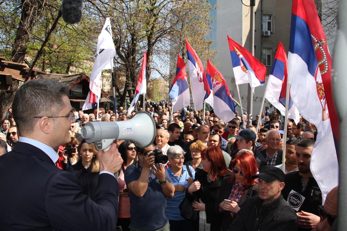 Јеремић у Смедереву: После ових избора зло одлази у историју