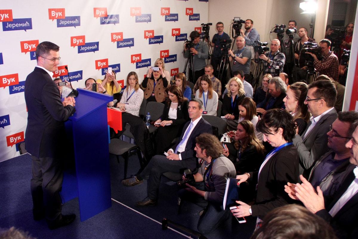 Јеремић: Настављам борбу за достојанственију и праведнију Србију