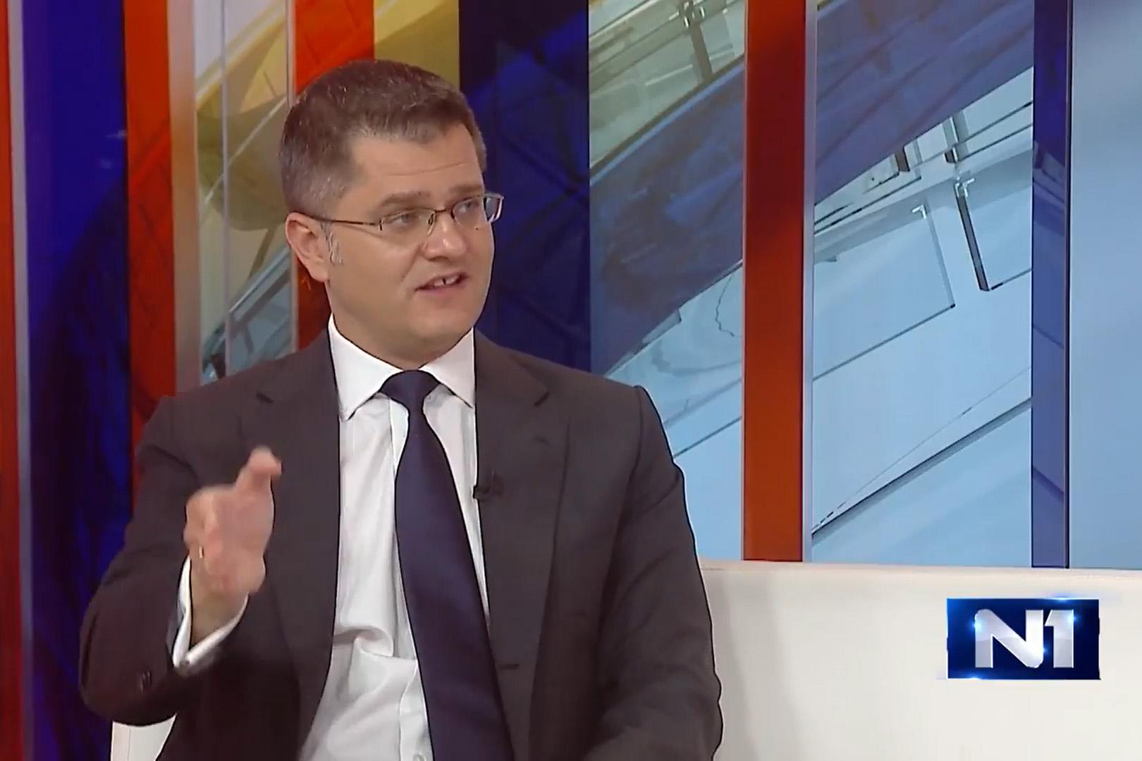Јеремић: Свађе опозиције као борба за место на палуби Титаника